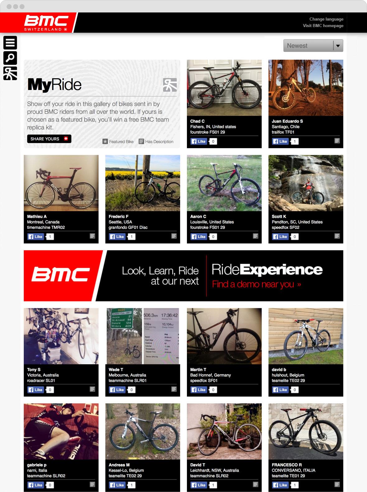 BMC MyRide